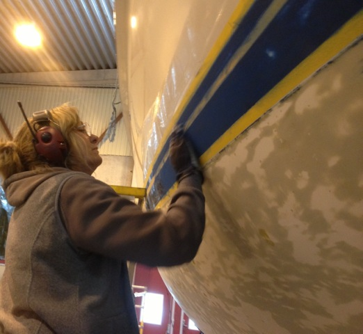 Antifouling Boat Painting